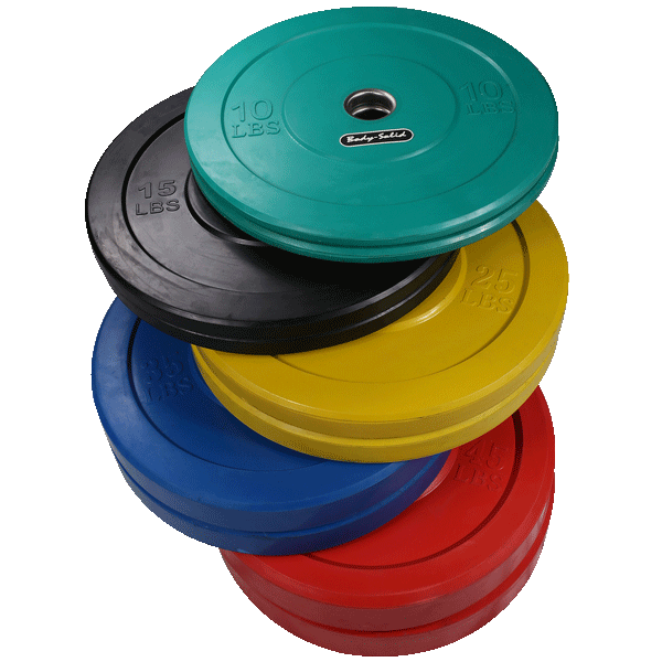 260 Lb. Colored Bumper Plate Set (No Bar)  sc 1 st  Rochester Fitness and Cycling : rubber plates set - pezcame.com