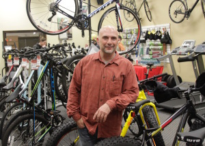 David Ferrett, Ferretti Cycles, Custom Bicycle Builder