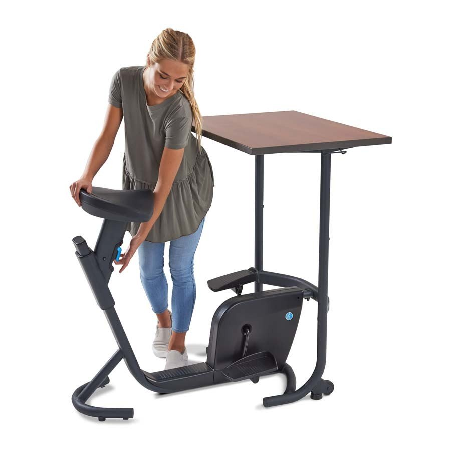UNITY BIKE DESK WITH CHERRY TOP